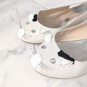 Adorable Marc Jacobs mouse slingbacks